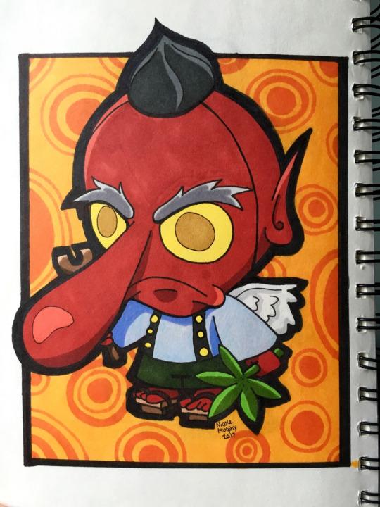 Snobby Tengu by xXxSkullsxXx
