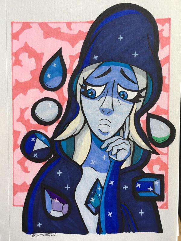 Blue Diamond by xXxSkullsxXx