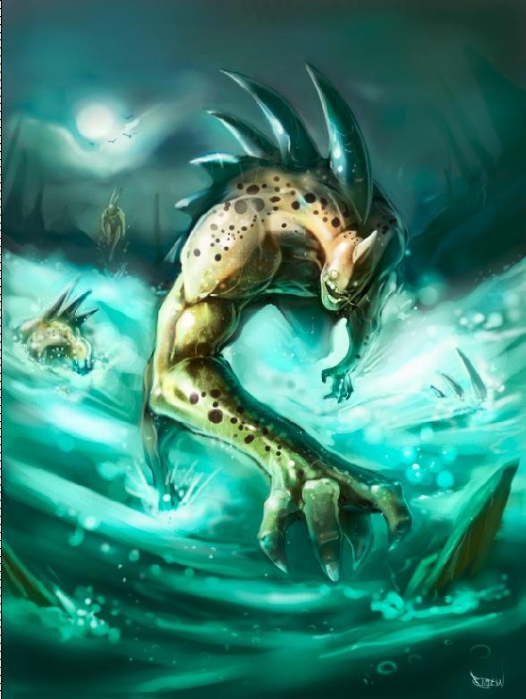 Lizardfish by faroldjo
