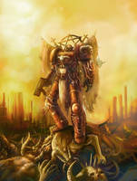 warhammer 40,000 exorcist by faroldjo