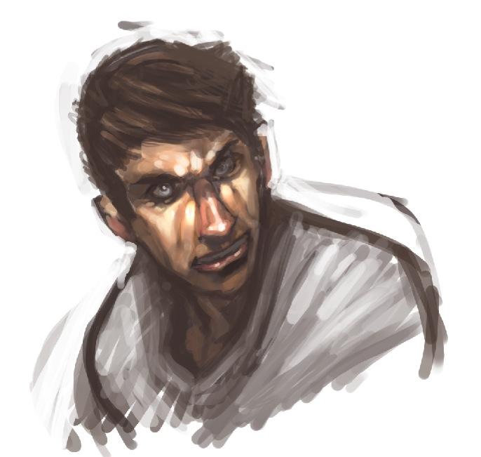 hyper duper quick color sketch by faroldjo