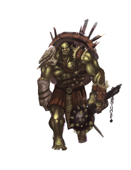 orc in progess by faroldjo
