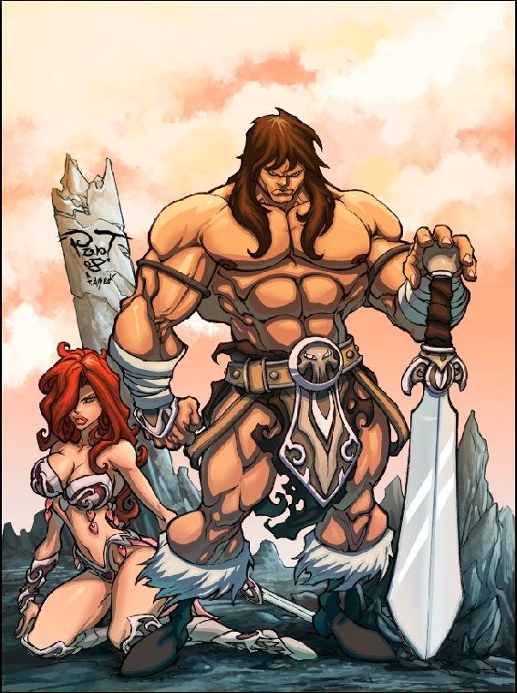 Conan by faroldjo