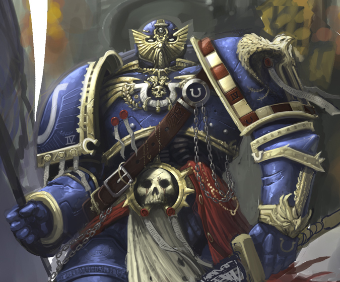warhammer ultramarine take 2 by faroldjo