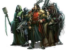 deatwahtch warhammer 4 by faroldjo