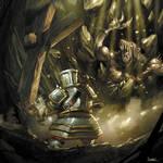 warhammer dwarf vs ogre skaven