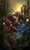Deathwatch chapter cover 2 by faroldjo