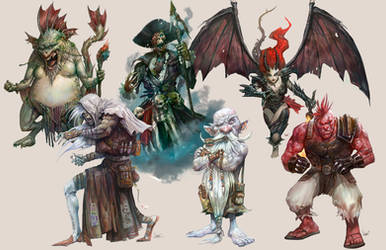 characters by faroldjo