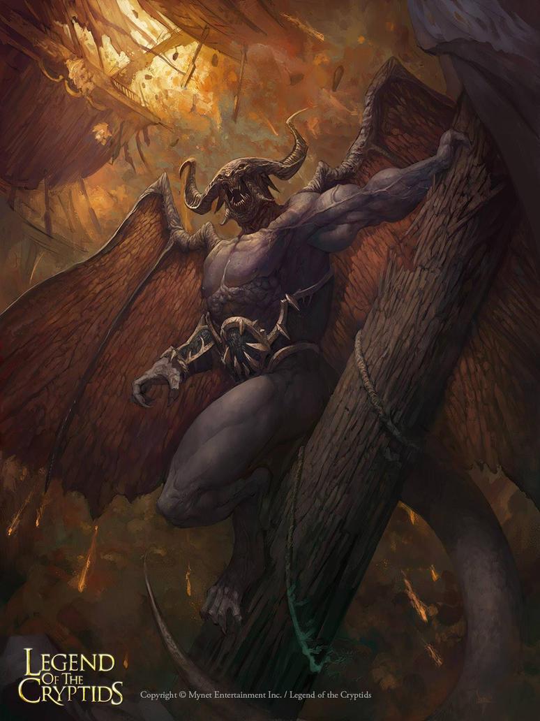 Flying demon by faroldjo