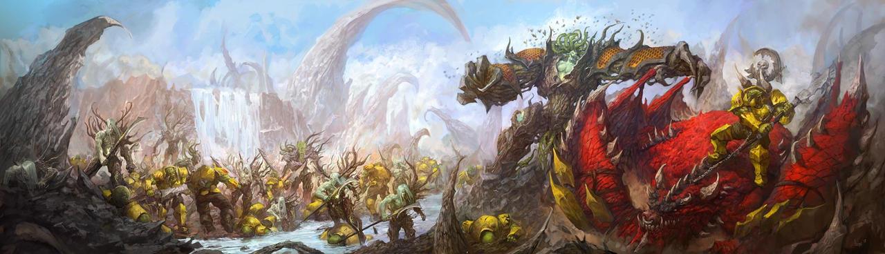 Sylvaneth vs orkz