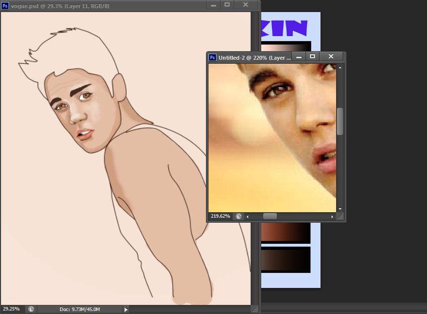Cute Cartoon Drawings of Justin Bieber Justin Bieber Cartoon Wip by