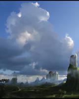 minaret by d3cap