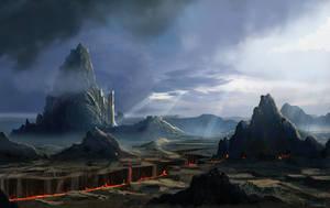 Mount Olympus by d3cap