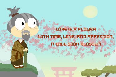 Basho's Flower Haiku (Show Your Heart: Day 6) by JordynGowens