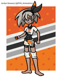 Gym Leader Bea (Full Body Drawing)