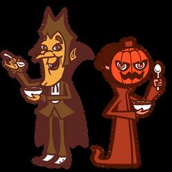 Count Chocula and Pumpkin Cam