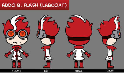 Addo B. Flash Labcoat Character Sheet