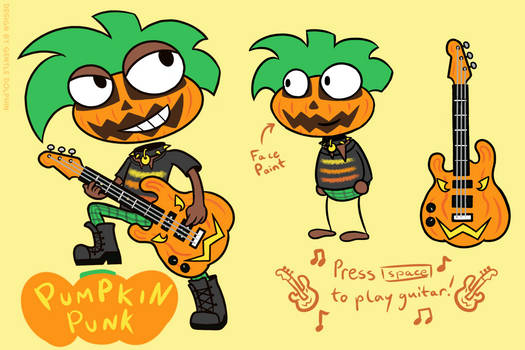 Pumpkin Punk Costume
