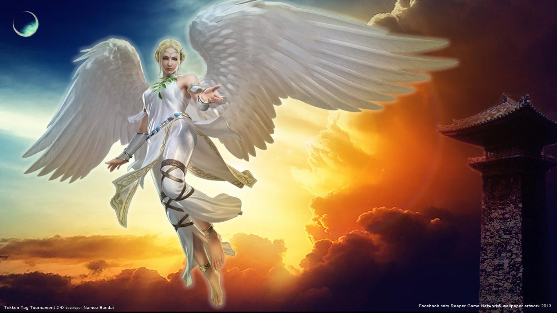 Tekken Tag Tournament 2 Angel Wallpaper By Fiorerose On Deviantart