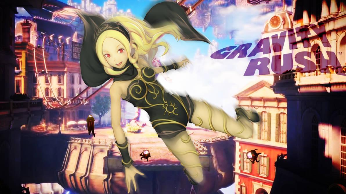 Gravity Rush 3 - PS Vita Lockscreen by ElderWraith on