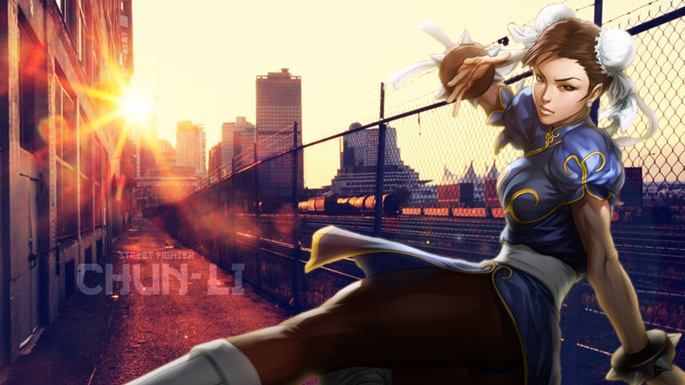 Street Fighter Chun Li Wallpaper By Fiorerose On Deviantart