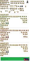 Koopa Bros. Sprite Sheet