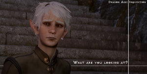 [DA:I] What are you looking at?