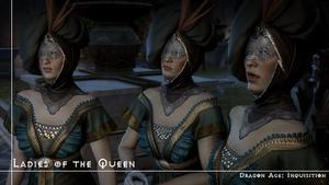 [DA:I] Ladies of the queen