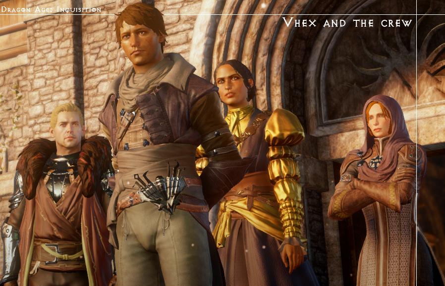[DA:I] Inquisitor and crew