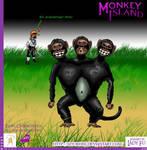 Monkey Island: 3koepfiger Affe