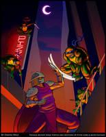 TMNT 25th Anniversary by dandesuka