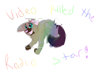 Video Killed The Radio Star by ask-shadow-anything