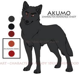 Akumo Ref Sheet by Idess