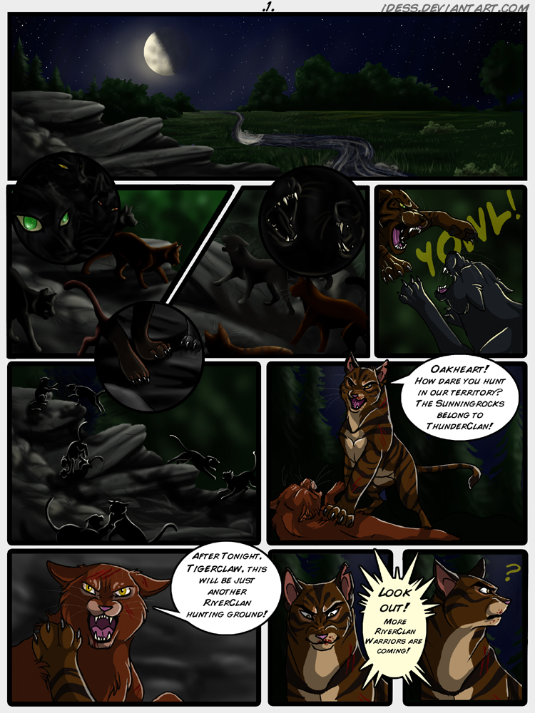 Warriors Intro Comic - Page 1