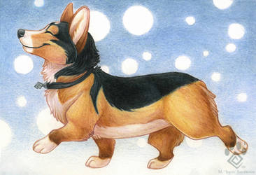 I'm Just a Corgi by Idess