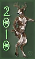 Happy Nude Deer 2010