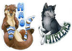 Mao and Mirzers Badges