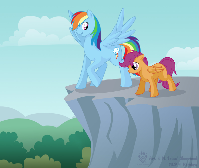 Flying Lessons by Idess