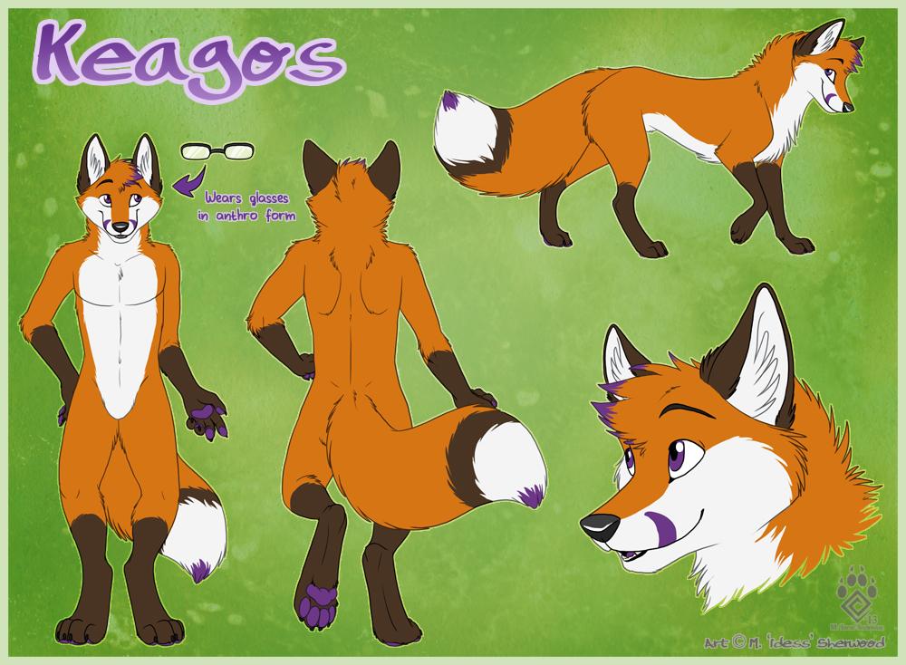 Keagos Ref Sheet by Idess