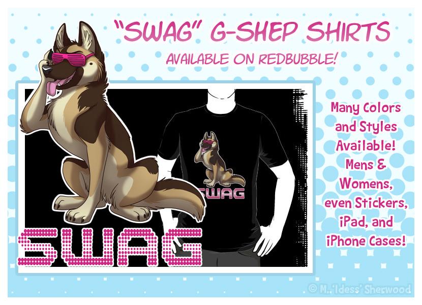 SWAG German Shepherd by Idess