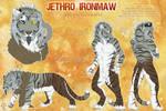Jethro Ironmaw Reference Sheet