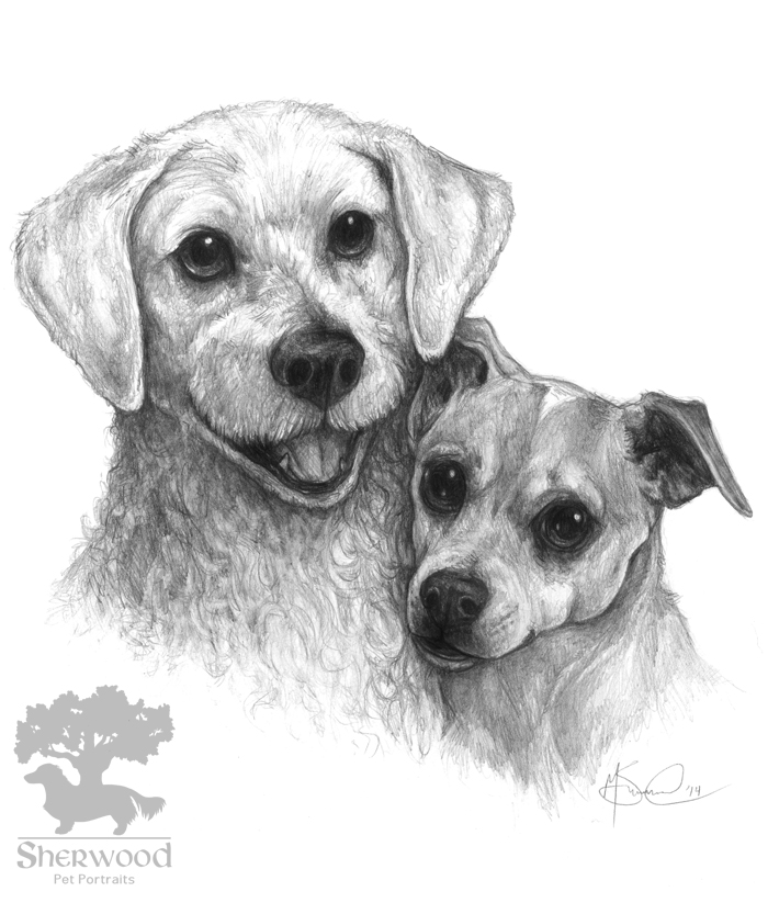 Marley and Darshan by Idess