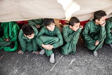 children in karbala by mahdishalchian