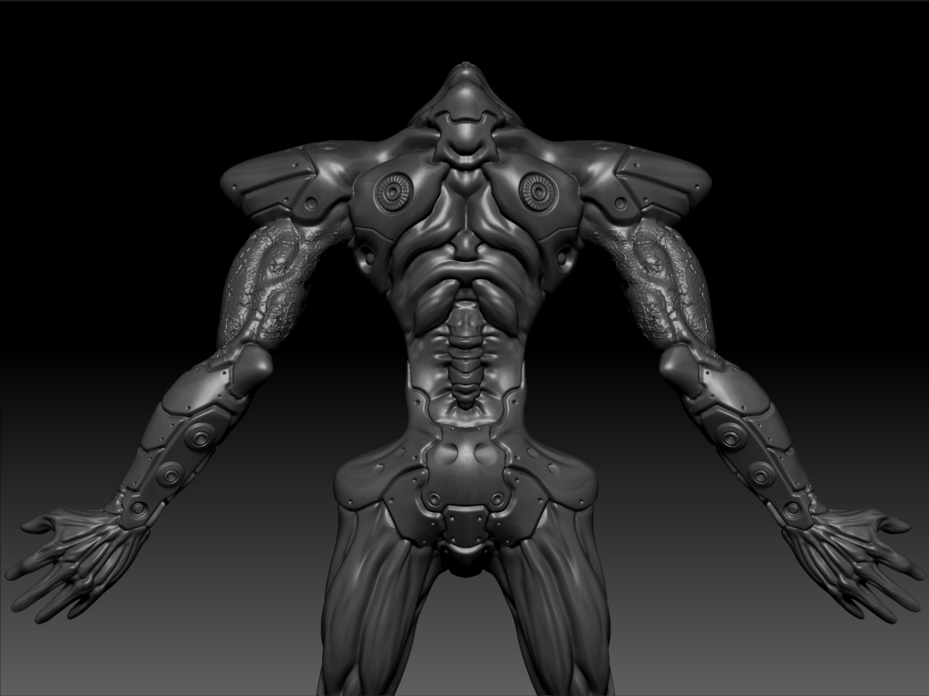my 3d art project_EVA_ORG_03 by mon82
