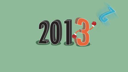 good bye 2012 by aznweirdo