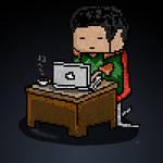 Pixelate Life Of Developers