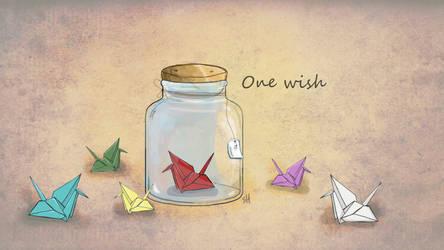One Wish by aznweirdo