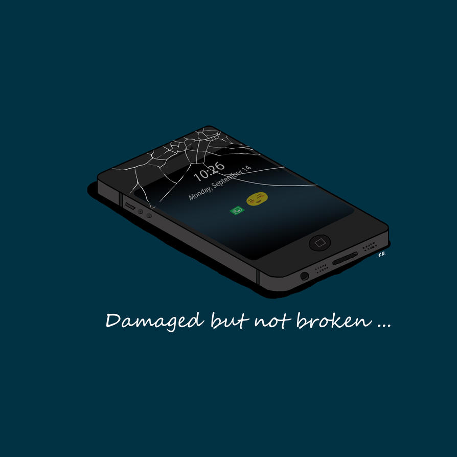 Damaged But Not Broken by aznweirdo