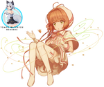 Kinomoto sakura cardcaptor sakura render