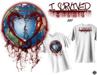 I survived 2017 T-shirt